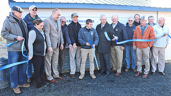 Farm Credit sponsors high school poultry house