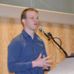 The 27-year-old internet sensation recently spoke in Louisville at the American Forage and Grassland Council annual meeting, encouraging his fellow farmers to engage a waiting audience and tell their story. (Courtesy of Farmstead Media)