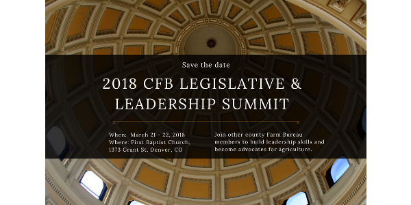Legislative and Leadership Summit March 21 -22