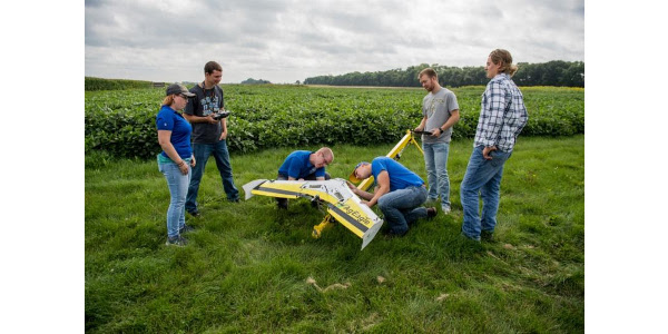 To advance innovation, research and science in the field of precision agriculture, South Dakota State University became the first land grant in the nation to offer a four-year Precision Agriculture major in 2016. Recently, the university launched a campaign to construct a $55 million Precision Agriculture Teaching and Research Facility.Students' response to the new major was immediate, filling class sections. (Courtesy of SDSU)