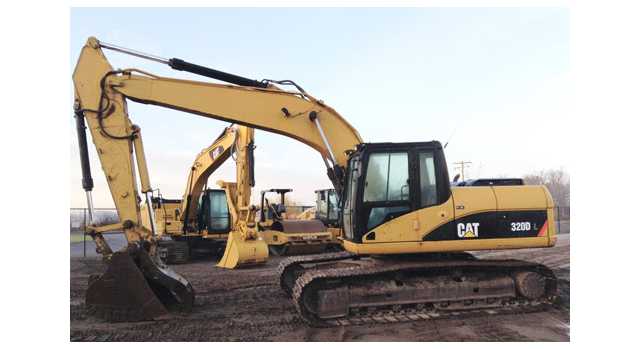 Information sought on missing excavator