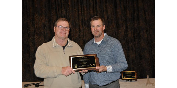 Allan Crow honored with pork award