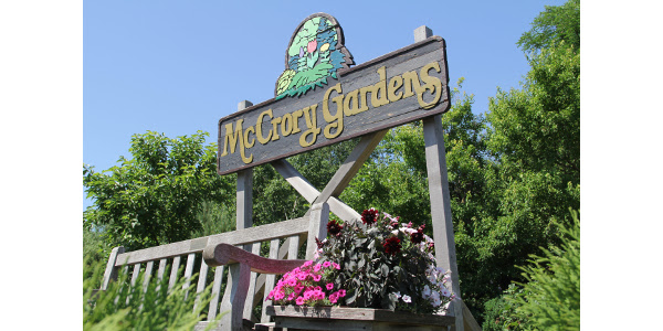 McCrory Gardens launches app