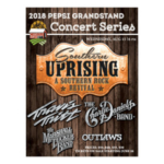 Southern Uprising Tour: A Southern Rock Revival featuring Travis Tritt, The Charlie Daniels Band, The Marshall Tucker Band and The Outlaws is back on the Pepsi Grandstand Stage.