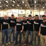 From L-R: Mitch Rippe (Nebraska Beef Council), Mike Jeffrey, John Widdowson, Leslee Montey, Armondo Chavez, Colton Rolls, Jose Walsh, Steve Walmsley. (Courtesy of The Nebraska Beef Council)