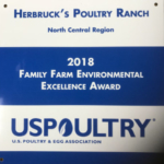 Herbruck's Poultry Ranch 2018 Family Farm Environmental Excellence Award. (Courtesy of Herbruck's Poultry Ranch)