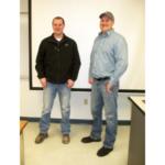 Scott and Kyle Lake. (Courtesy of Western Illinois University)