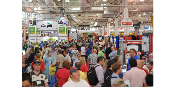 Marking 30 years of World Pork Expo, the 2018 event will feature the largest pork-specific trade show ever presented. New to Expo, the Jacobson Exhibition Center will join the Varied Industries Building and expanded outdoor space for more than 360,000 square feet of commercial exhibit space. Organizers expect 500 companies will display the latest technology, products and services for pork production. (Courtesy of World Pork Expo)