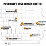 All Top Ten restaurants will be visited by a panel of anonymous judges who will evaluate the burgers based on taste, appearance, and proper doneness (160 degrees fahrenheit).