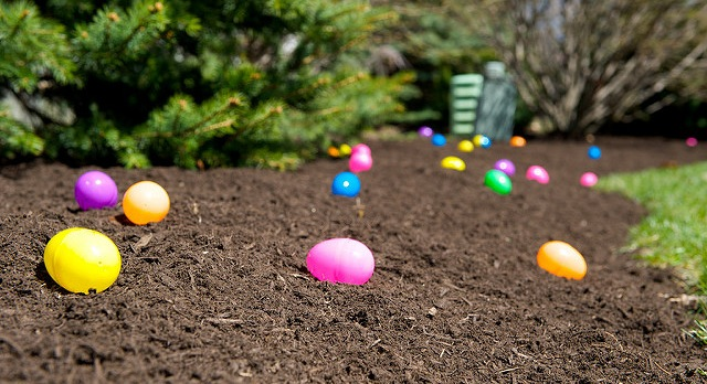 Be careful before biting into Easter eggs Sunday! It's also April Fools' Day