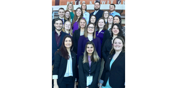 Kansas State University animal science students swept several top honors at the American Society of Animal Science's regional meeting in Omaha, Neb. (Courtesy of K-State Research and Extension)