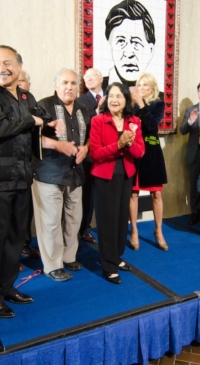Dolores Huerta from jazz to 'Si, Se Puede'