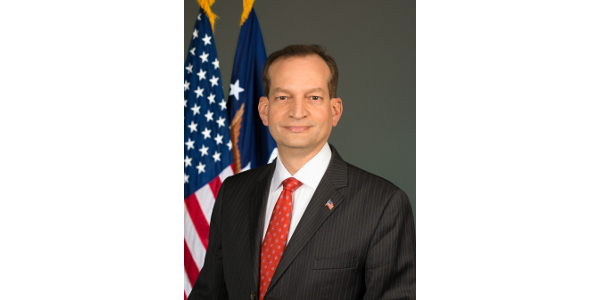 (By US Department of Labor - U.S. Secretary of Labor R. Alexander Acosta Official Photograph, Public Domain, Link)