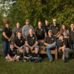 The Styer family, owners of Alfalawn Farm in Menomonie, Wis., has been named among the 2018 Members of Distinction by Dairy Farmers of America (DFA). (Courtesy of DFA)