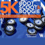 The 2018 Boot, Scoot, and Boogie 5K race will be April 14 at The Club at UK's Spindletop Hall. (Courtesy of University of Kentucky Extension)