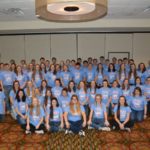 High school students from Wisconsin and Minnesota attended Cooperative Network's 2018 Co-ops Yes! Youth Leadership Conference in Eau Claire, Wis. (Courtesy of Cooperative Network)