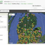 Specialty crop growers with more than half an acre in production should consider registering with Driftwatch and having their fields mapped for easy reference for commercial applicators. (Courtesy of MSU Extension)