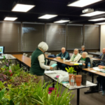 "Local Master Gardener's engaged us, Nancy Gmitro, Carroll County offered a hands-on Tea party with all tea ingredients from her tea garden and Sue Paulin & Bobbi Burke, Ogle County who spoke on keeping your houseplants ""Happy Houseplants""! (Courtesy of University of Illinois Extension)"