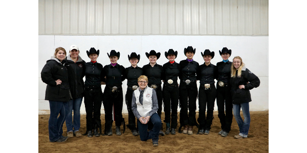 River Falls IHSA Western Show Team is champ