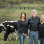 By developing unique ways to diversify the dairy while still keeping the cows at the center of the operation, the Gibson family has continued the way of life they value. (Courtesy of DFA)