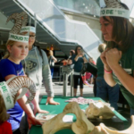 For the past three years, Colorado State University has hosted a clubhouse at theDenver Museum of Nature & Science's annual Girls & Science event, a fun-filled day focused on STEAM (science, technology, engineering, arts, and mathematics) career exploration and mentorship for kids, mostly between eight and 13 years old. (Courtesy of CSU)