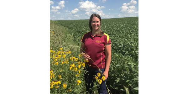 Lisa Schulte Moore, an ISU researcher from Ames, is the newest addition to Practical Farmers' board of directors. (Courtesy of Practical Farmers of Iowa)