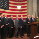 Gov. Ricketts rallies support for the Property Tax Cuts and Opportunities Act (LB 947). (Courtesy of Office of Governor Pete Ricketts)