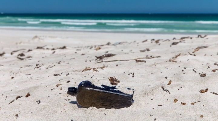Oldest-known message in a bottle found