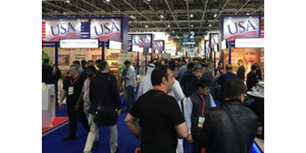 Minnesota-based food and agricultural companies had a strong showing at Gulfood 2018, a unique global food show held annually in Dubai. (Courtesy of Minnesota Department of Agriculture)
