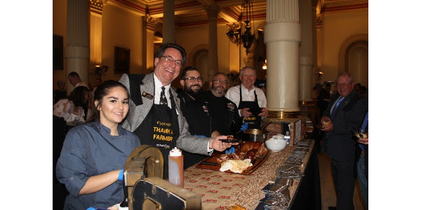 CFB was proud to sponsor our own Chef Jason Morse who participated in the annual food competition. (Courtesy of Colorado Farm Bureau)