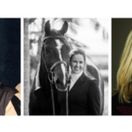 Bryan Baldwin (left), Lindsay Maxwell (center), and Clementina Rittenhouse Brown (right) all joined the 2018 National Horse Show Foundation Board of Directors. (Courtesy of National Horse Show)