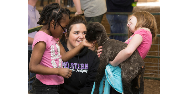 WIU School of Ag adopts class of 2nd graders