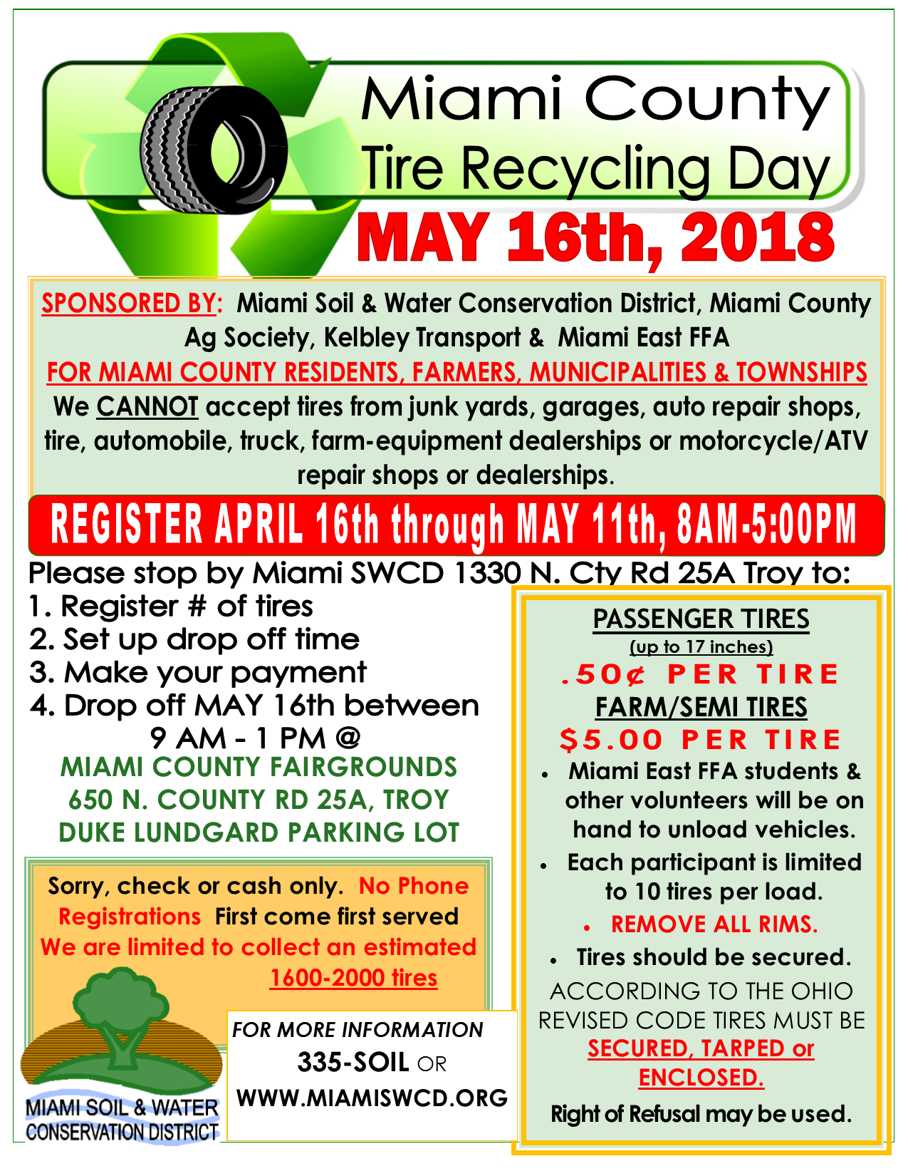Tire recycling program for Miami County residents | Morning Ag Clips