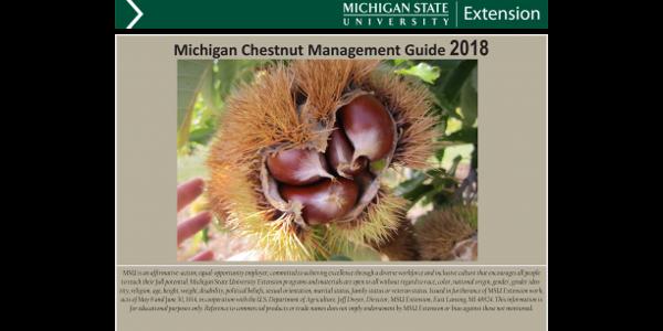 Updated registered pesticide list for chestnuts