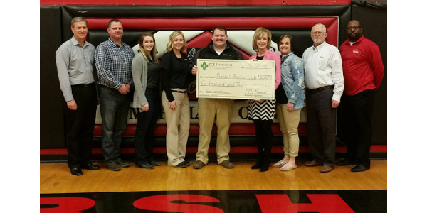 Marshall High School Booster Club Receives Grant Morning Ag Clips