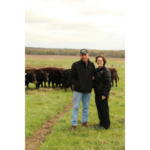 Randy and Denise Eddy. (Courtesy of Iowa Cattlemen's Association)