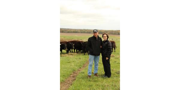 Randy and Denise Eddy. (Courtesy of Iowa Cattlemen's Association)
