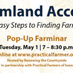 Learn more about the Land Access Hub, an initiative created to help new farmers navigate the increasingly difficult process of finding affordable land to farm in Wisconsin, Minnesota, and Iowa.