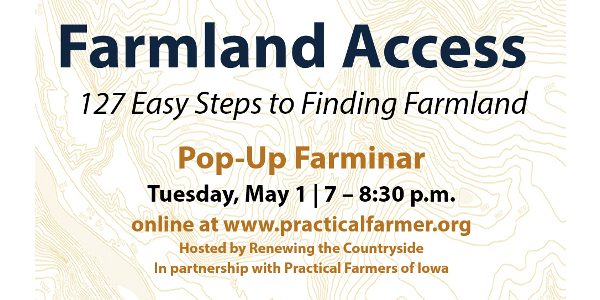 Farmland access webinar May 1