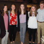 Seven UNL students will be participating in Nebraska Corn's internship program. From left to right: Halle Ramsey (from Ord), Hannah Settje (from Raymond), Liz Ruskamp (from North Bend), Alyssa Ehler (from Elkhorn), Elizabeth Todsen (from Ord), Thomas Hoxmeier (from Orleans) and Heidi Borg (from Allen). (Courtesy of Nebraska Corn)