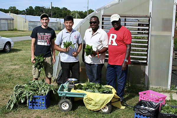 Rutgers' Ayeni a man of many agricultural hats