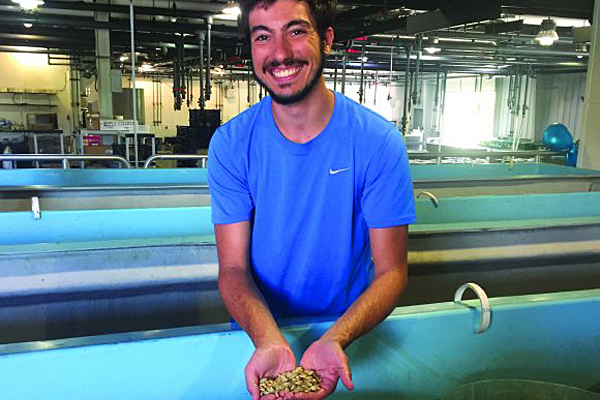 Rutgers grad student featured by fisheries society