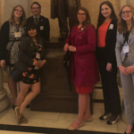 Six 4-H youth recently returned from Washington, D.C., where they represented Iowa at the National 4-H Conference April 7-12. (Courtesy of Iowa State University Extension and Outreach)