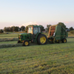 Baling hay. (Photo credit: MU Extension)