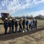 Governor Ricketts and local officials break ground on an expansion at the Lancaster Event Center. (Courtesy of Office of Governor Pete Ricketts)