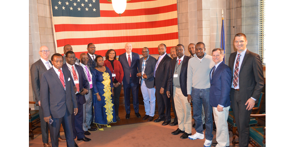 Ricketts meets with trade delegation from Kenya