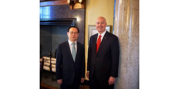 Ricketts welcomes S. Korea's Consul-General to Neb.