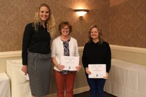 2018 George Holder Grant Recipients at the 2018 McLean County Chamber of Commerce Agriculture Awareness Breakfast in Bloomington, IL. (University of Illinois Extension)