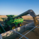 Each year, nearly 70 percent of the 255 million bushels of soybeans harvested in South Dakota are exported. China is the largest importer of South Dakota soybeans. South Dakota's export narrative is not unique. Nation-wide, one out of every three rows of soybeans harvested is shipped to China. In 2017, this amounted to $13.9 billion worth of U.S. soybeans. (Courtesy of SDSA)