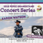 Aaron Watson with Tim Montana will perform on the Pepsi Grandstand Stage. (Courtesy of Missouri State Fair)